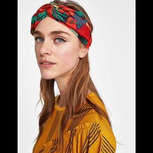 Zara print headband